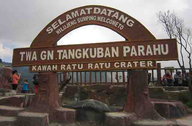 Wisata Gunung Tangkuban Perahu