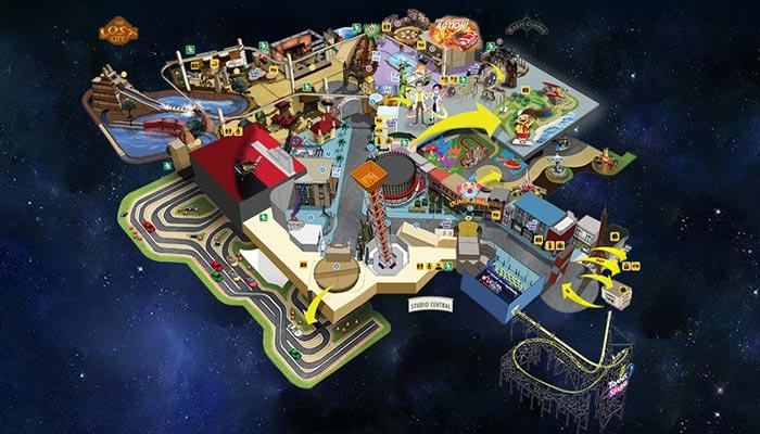 Map Trans Studio Bandung