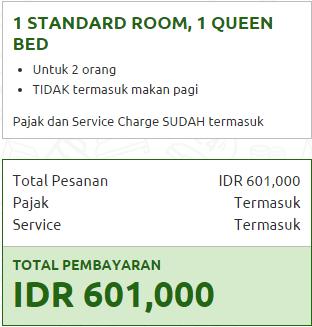 Harga kamar Ibis Trans Studio Bandung di Rajakamar
