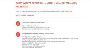 Paket Group Tour Bali dan Lombok